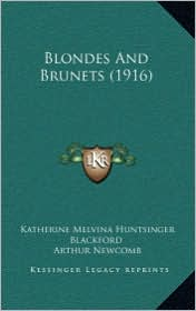 Blondes and Brunets (1916)