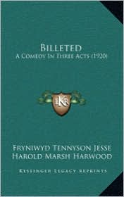 Billeted: A Comedy in Three Acts (1920)