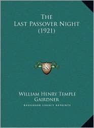 The Last Passover Night (1921)