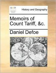 Memoirs of Count Tariff, &C.