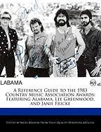 A Reference Guide to the 1983 Country Music Association Awards: Featuring Alabama, Lee Greenwood, and Janie Fricke