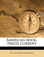 American Book-Prices Current