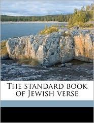 The Standard Book of Jewish Verse