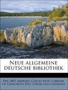 Neue allgemeine deutsche bibliothek (German Edition)
