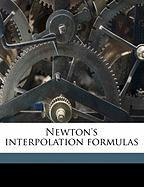 Newton's Interpolation Formulas