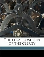 The Legal Position of the Clergy