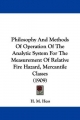 Philosophy and Methods of Operation of the Analytic System for the Measurement of Relative Fire Hazard, Mercantile Classes (1909)