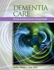 Dementia Care: Inservice Training Modules for Long-Term Care (Book Only)