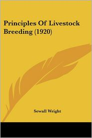 Principles of Livestock Breeding (1920)