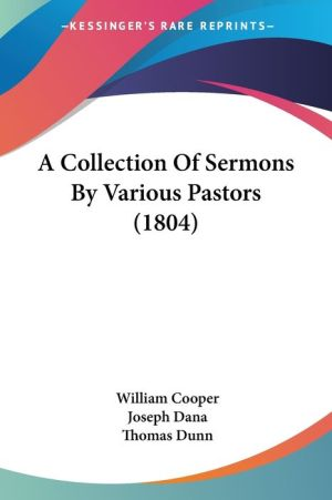 A Collection of Sermons by Various Pastors (1804)