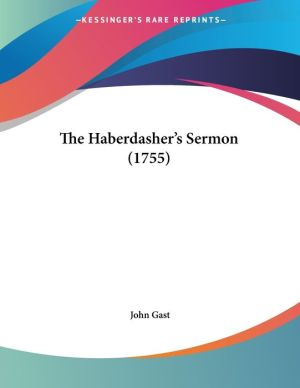 The Haberdasher's Sermon (1755)