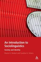 Introduction to Sociolinguistics: Society and Identity