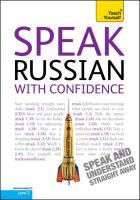 Teach Yourself Speak Russian with Confidence