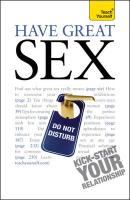 Teach Yourself Have Great Sex