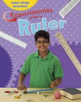 Experiments with a Ruler. by Angela Royston