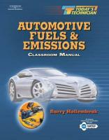 Automotive Fuels and Emissions