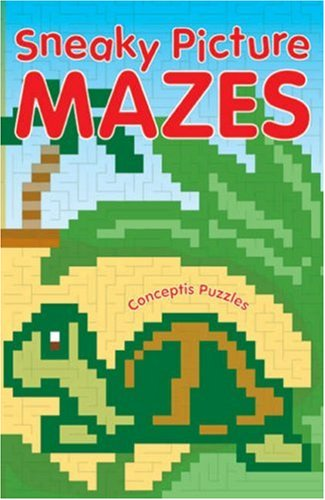 Sneaky Picture Mazes - Conceptis Puzzles
