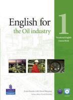 Vocational English Elementary English for Oil Industry Coursebook (with Audio CD)
