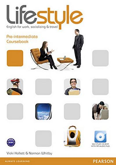 Lifestyle Pre-Intermediate Coursebook (with CD-ROM) : English for Work, Socializing and Travel - Vicki Hollett