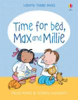 Max and Millie. Time for Bed