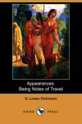 Appearances: Being Notes of Travel (Dodo Press)