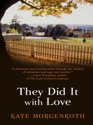 They Did It with Love (Thorndike Core) - Kate Morgenroth