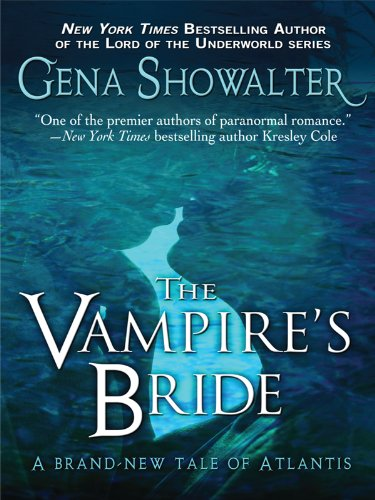The Vampire's Bride (Thorndike Romance) - Gena Showalter