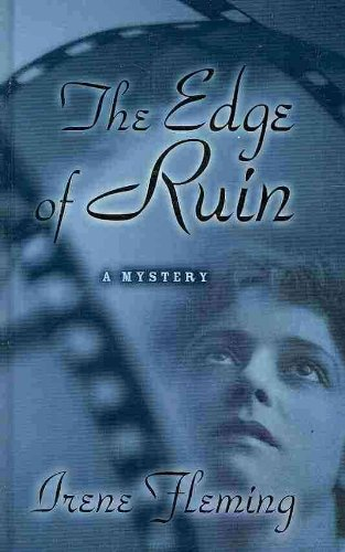 The Edge of Ruin (Thorndike Press Large Print Mystery Series) - Irene Fleming