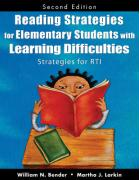 Reading Strategies for Elementary Students with Learning Difficulties: Strategies for RTI