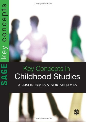 Key Concepts in Childhood Studies (SAGE Key Concepts series) - Allison James; Adrian L James