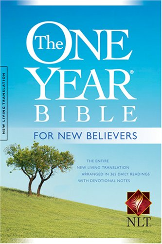 The One Year Bible for New Believers NLT - Livingstone