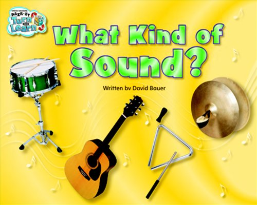 Steck-Vaughn Pair-It Turn and Learn Emergent 2: Individual Student Edition What Kind of Sound?/Danny's Drums - STECK-VAUGHN