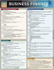 Business Finance Laminated Reference Guides