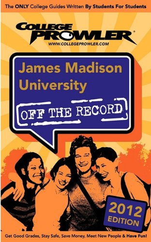 James Madison University 2012: Off the Record - Rosemary Grant; Sylvia Florence