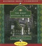 Right Attitude to Rain (Isabel Dalhousie Mysteries) - Alexander McCall Smith