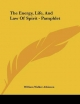 The Energy, Life, and Law of Spirit - Pamphlet