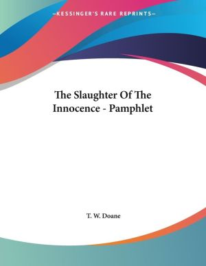 The Slaughter of the Innocence - Pamphlet