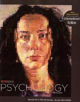 Psychology - Peter Gray