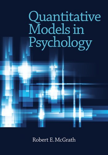 Quantitative Models in Psychology - Robert E. McGrath