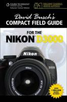 David Busch's Compact Field Guide for the Nikon D3000