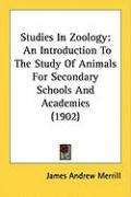 Studies in Zoology: An Introduction to the Study of Animals for Secondary Schools and Academies (1902)