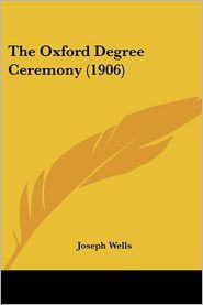 The Oxford Degree Ceremony (1906)