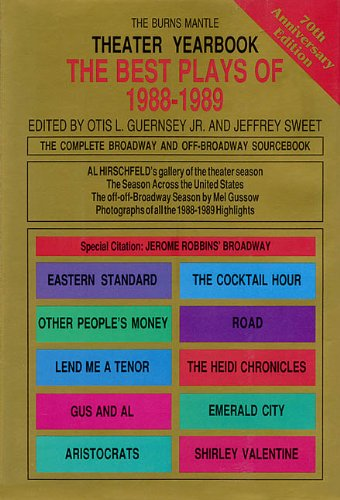 Theater Yearbook 1988-1989: The Complete Broadway and Off-Broadway Sourcebook (Best Plays) - Hal Leonard Corp.