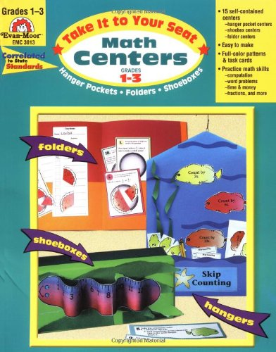 Take It to Your Seat Math Centers, Grades 1-3 - Jill Norris, Evan-Moor Educational Publishers