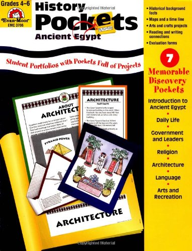 History Pockets: Ancient Egypt - Grades 4-6+ - Marc Tyler Nobleman