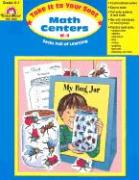 Take It to Your Seat Math Centers, Grades K-1