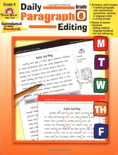 Daily Paragraph Editing, Grade 6 - Ruth Foster, Jill Norris