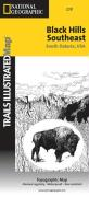 Trails Illustrated - National Parks Map-Black Hills Se/Windcave - Nat'l Par