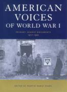 American Voices of World War I