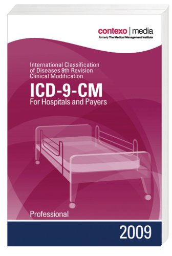 2009 ICD-9-CM Volumes 1, 2  &  3 Professional for Hospitals and Payers (6x9 Compact) - Contexo Media